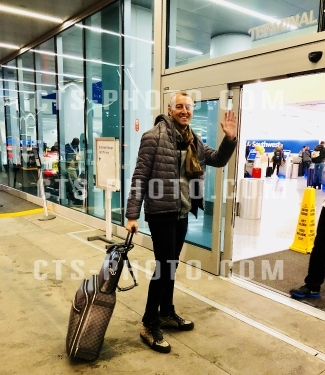 Sighting: Prince Mario-Max Schaumburg-Lippe spotted at LAX international airport