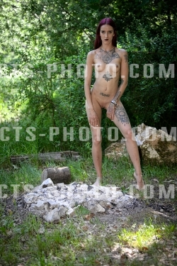 ( 13.06.2019 ) - Outdoor Shooting / Bad Girl / Topless / Nude /