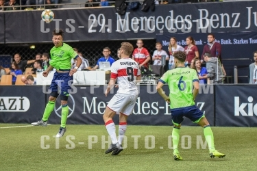 2019.01.06 Sport, Jugendfussball, U19: Mercedes-Benz JuniorCup2019