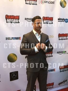 Celebrity Sighting: Action Hollywood Star Michael Vitally Vernon spotted at his Sangre Negra series launch Warner Brothers